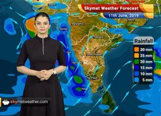 Weather Forecast June 11: Likely Cyclone Vayu to give heavy rain in Karnataka, Goa and Kerala, a threat to Gujarat Coast