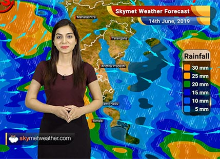 Weather Forecast June 14: Recurving Vayu to bring heavy rains and strong winds over Gujarat coast