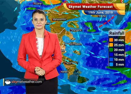 Weather Forecast June 19: Rains in Bihar to give relief from ongoing hot weather