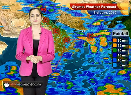 Weather Forecast June 3: Rain in Bengaluru, Chennai, Kolkata, Hyderabad, heat wave in Delhi, Jaipur