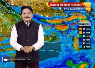 Weather Forecast for June 27: Mumbai rains to pick up pace, flooding likely in Assam and Meghalaya