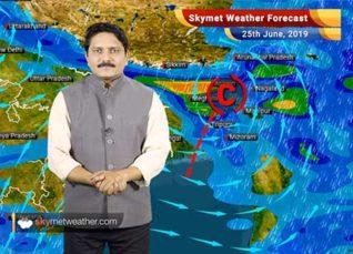 Weather Forecast for June 25: Monsoon showers to start in Mumbai soon, thundershower likely in Delhi, Punjab, Haryana