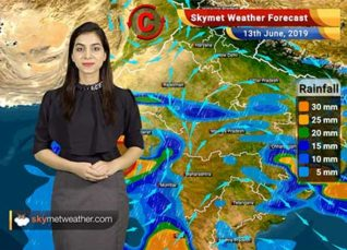 Weather Forecast for June 13: Cyclone Vayu to make a landfall on Gujarat coast, very heavy rains ahead