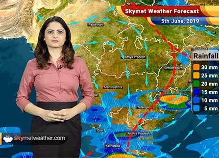Weather Forecast for June 5: Rain in Madhya Maharashtra, Marathwada and Konkan and Goa