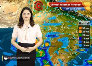 Weather Forecast for June 13: Cyclone Vayu to give rains in Mumbai, Madhya Maharashtra and Vidarbha