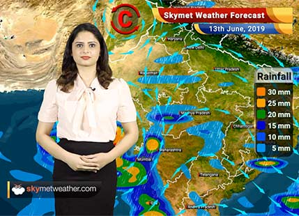Weather Forecast for June 13: Cyclone Vayu to give rains in Mumbai, Madhya Maharashtra and Vidarbha