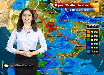 Weather Forecast for June 24: Heavy rain in Madhya Maharashtra, moderate showers in Konkan including Mumbai