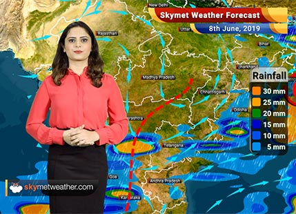 Weather Forecast for June 8: Rain in Nagpur, Gondia, Chandrapur and Pune, Monsoon to get delayed over Mumbai