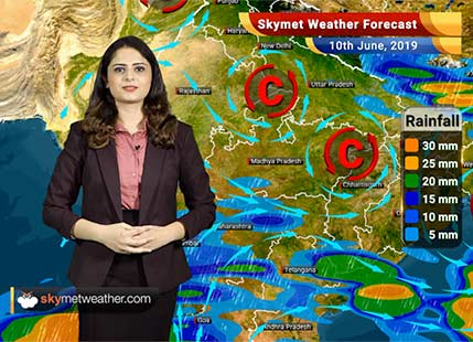 Weather Forecast for June 10: Monsoon to enter Northeast India during next 48 hrs, rain in Maharashtra