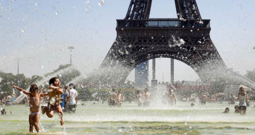 Paris Heat wave