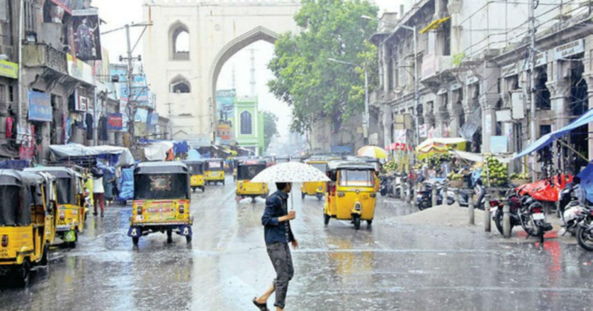 Rain in Telangana and Andhra Pradesh