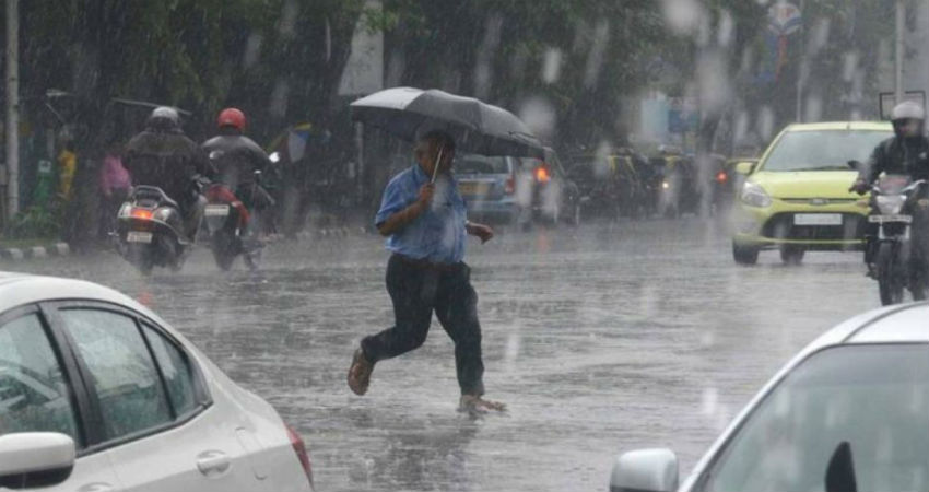 Cylone Vayu: Rain in Mumbai
