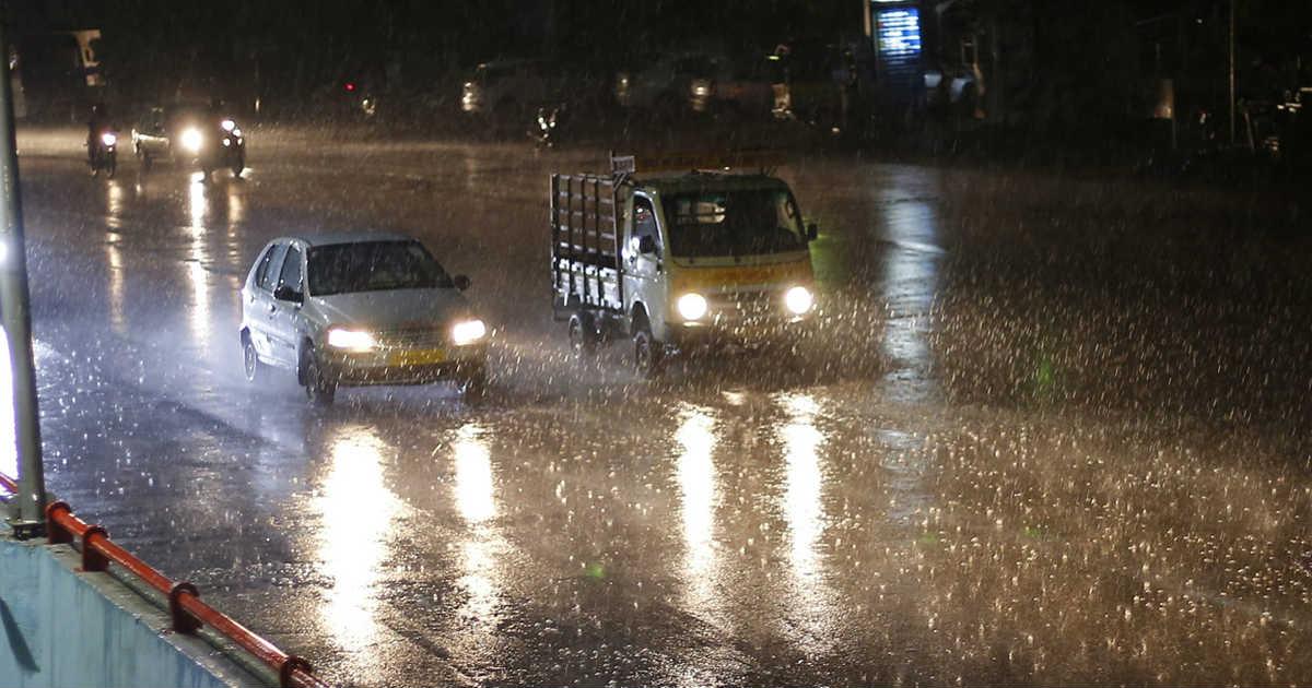 Rain in Hyderabad