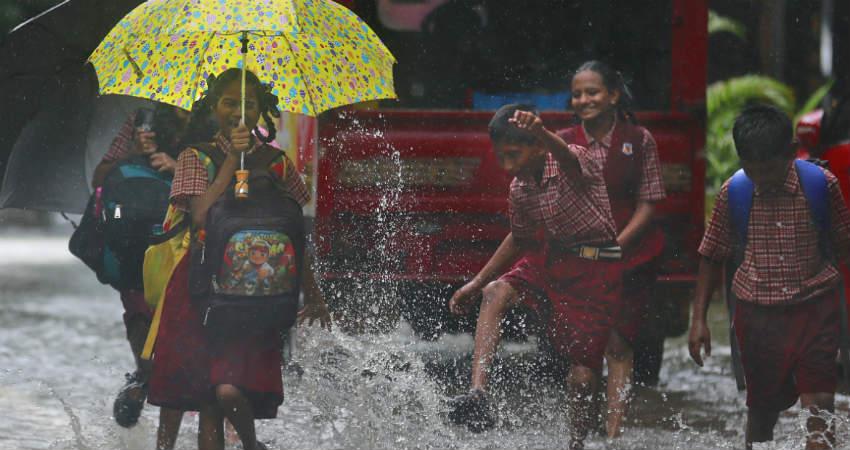 Monsoon rains in Kerala and Karnataka