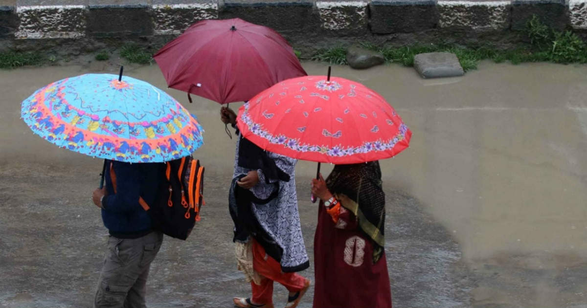 Southwest Monsoon in Northeast India