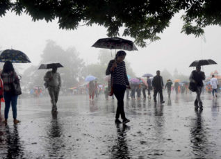 Weather and Rain alert for cities and states of India