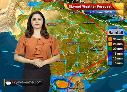 Weather Forecast for June 4: Rain in Mumbai, Nagpur, Parbhani, Latur and Kolhapur