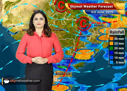 Weather Forecast for June 3: Rain in Maharashtra, Madhya Pradesh and Chhattisgarh likely
