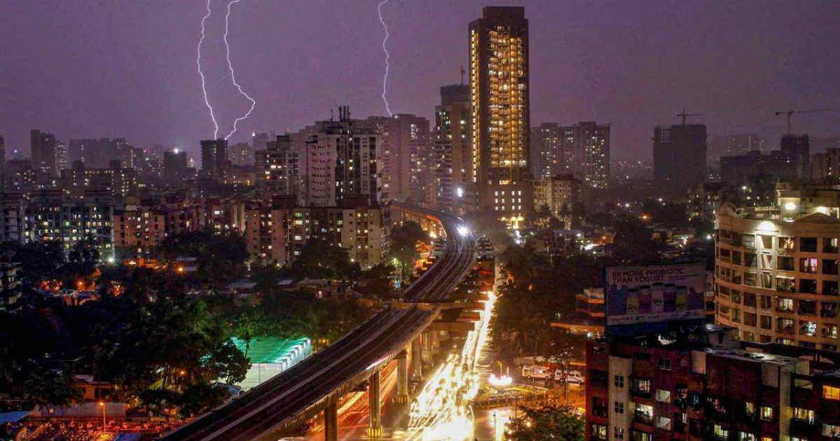 Cyclone Vayu in Mumbai