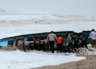 Cyclone Vayu in Gujarat