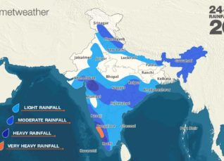 Southwest Monsoon forecast for July 20