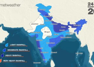 Monsoon 2019: Southwest Monsoon forecast for July 24