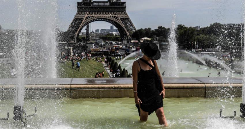 Heat Wave in Europe