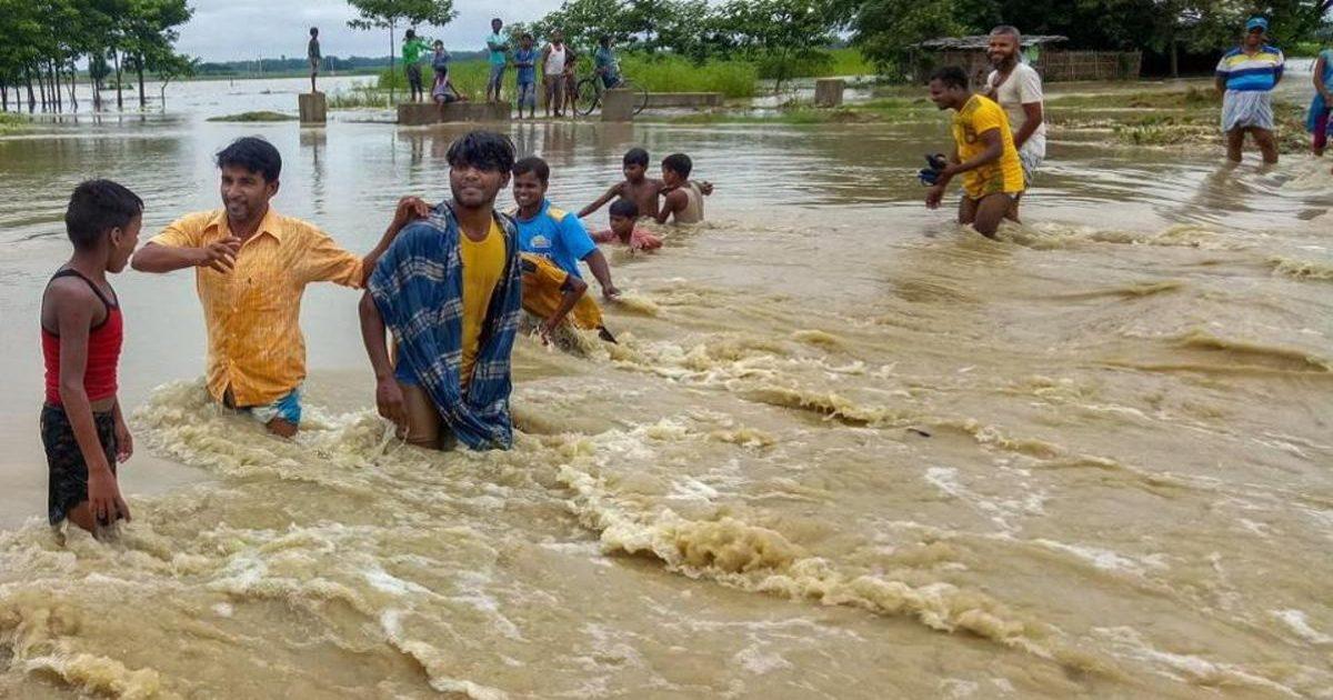 Bihar ,में  भारी बारिश से हाहाकार  पटना में भी डिप्टी सीएम के घर में भरा पानी