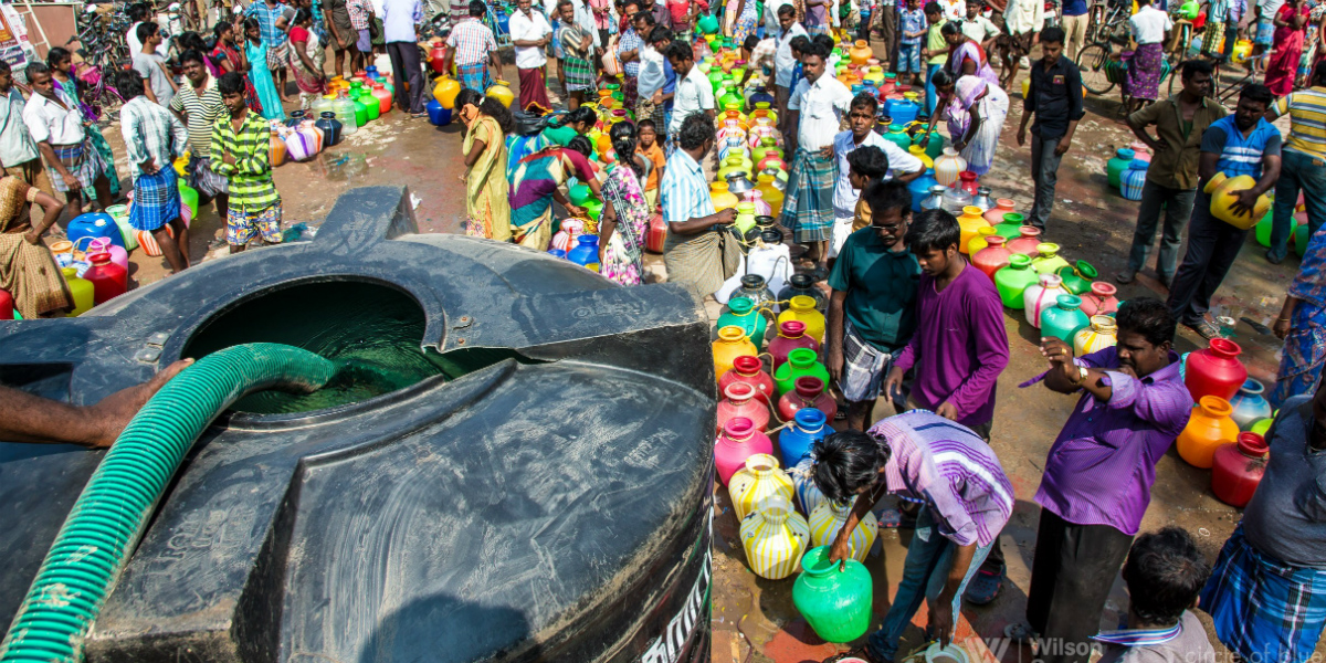Chennai-water-queues