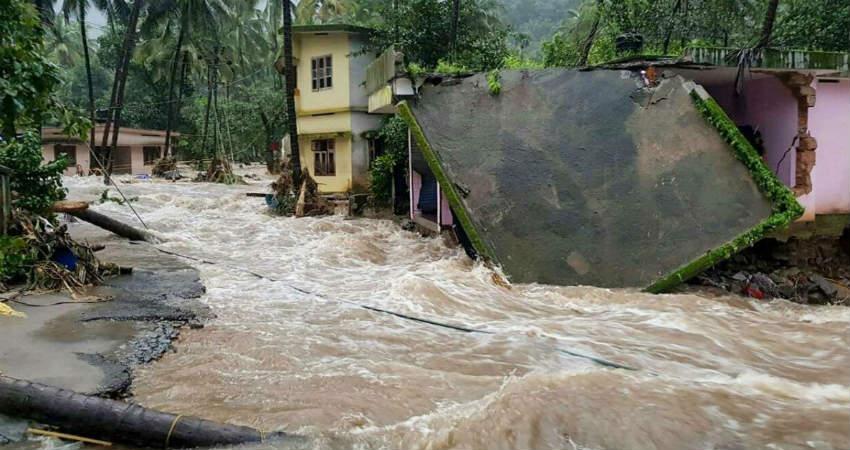 Torrential Rains in Kerala