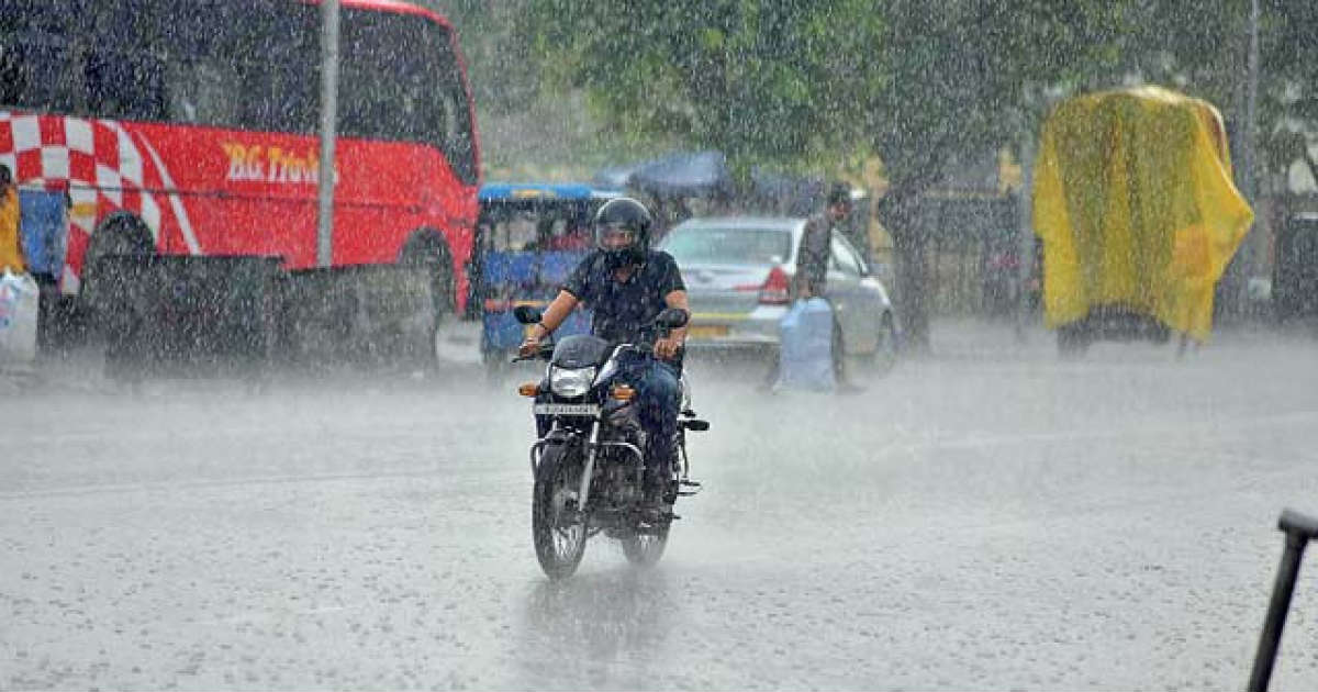Torrential Rains in Rajasthan