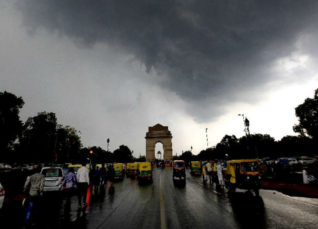 Delhi Monsoon rains 2019