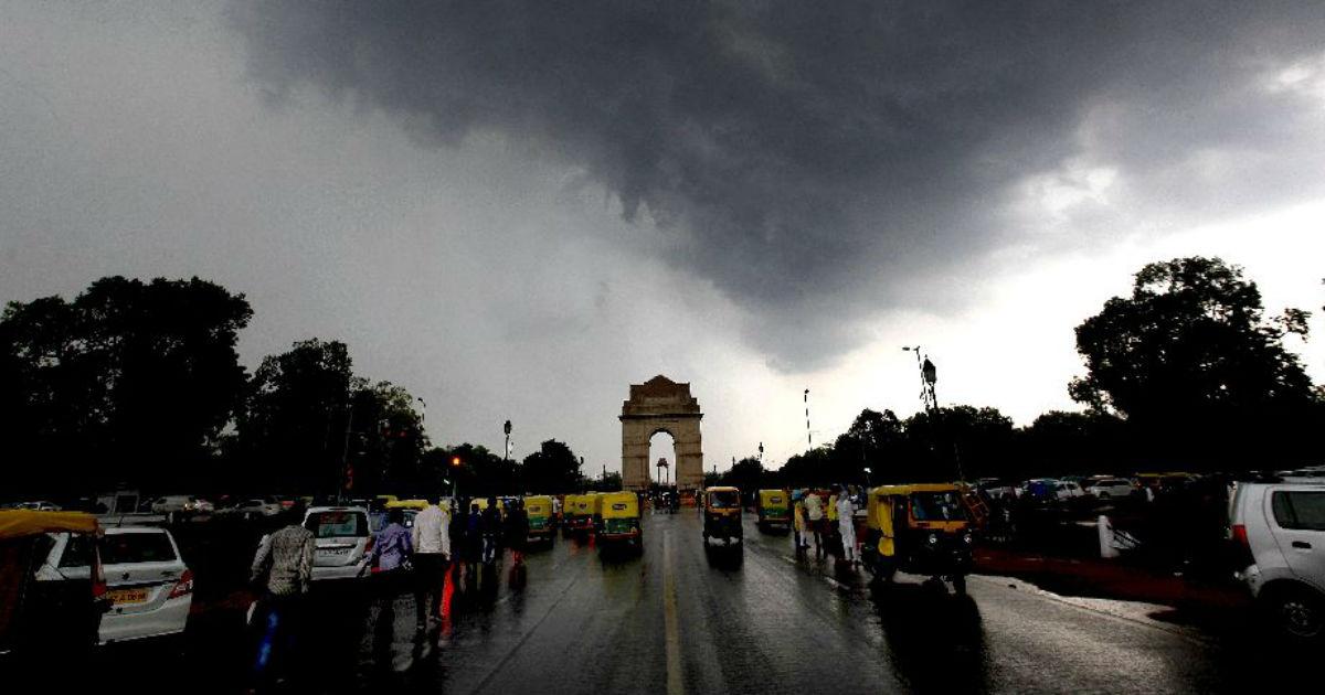 Delhi Monsoon rains 2019