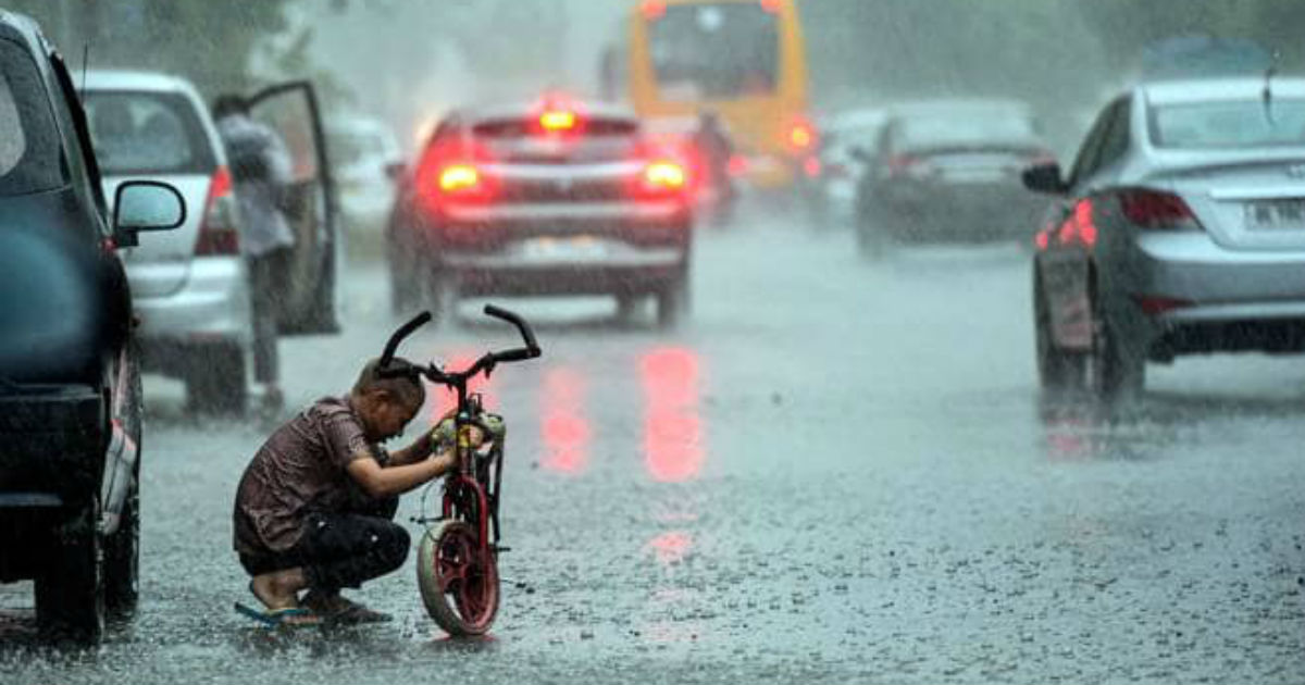 Delhi rains Monsoon rains-Business Today 1200