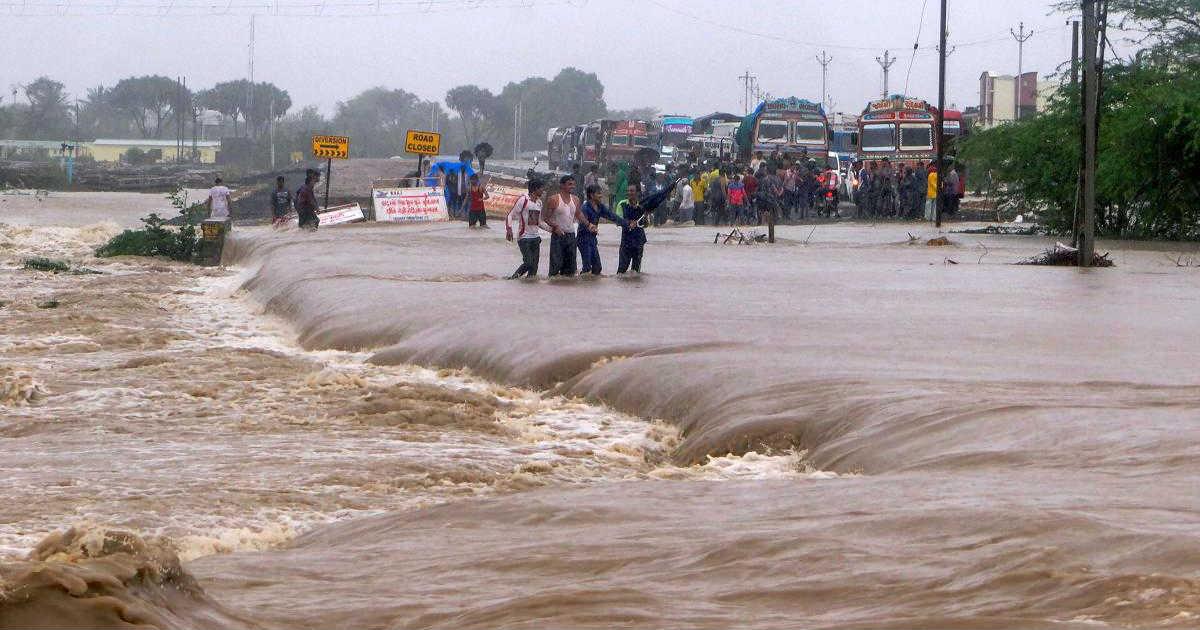 Flooding Rains in Gujarat