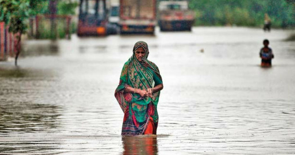 Flooding rains in Gujarat