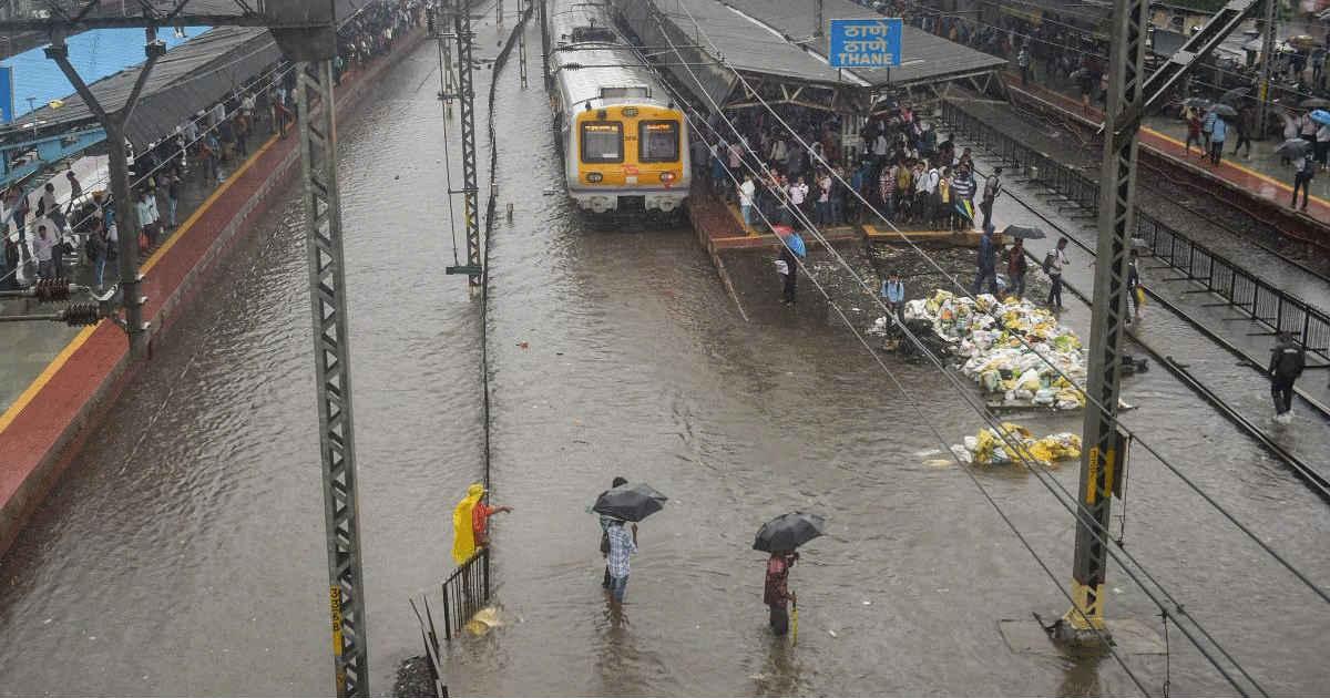 Mumbai Rains Cause havoc