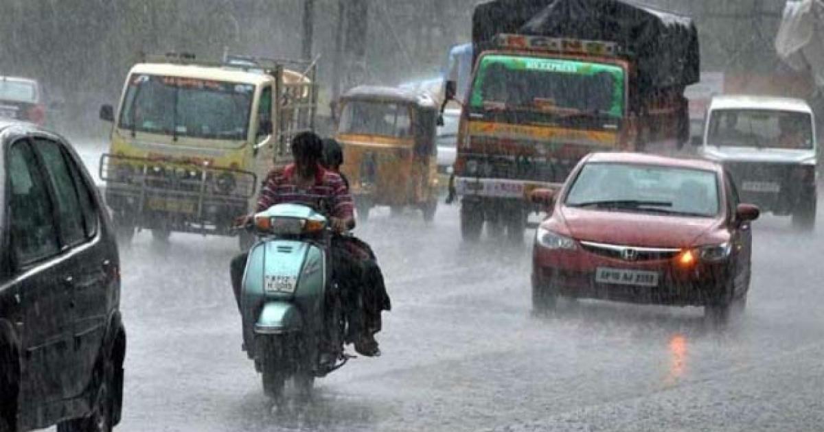 Rain in Andhra Pradesh and Telangana