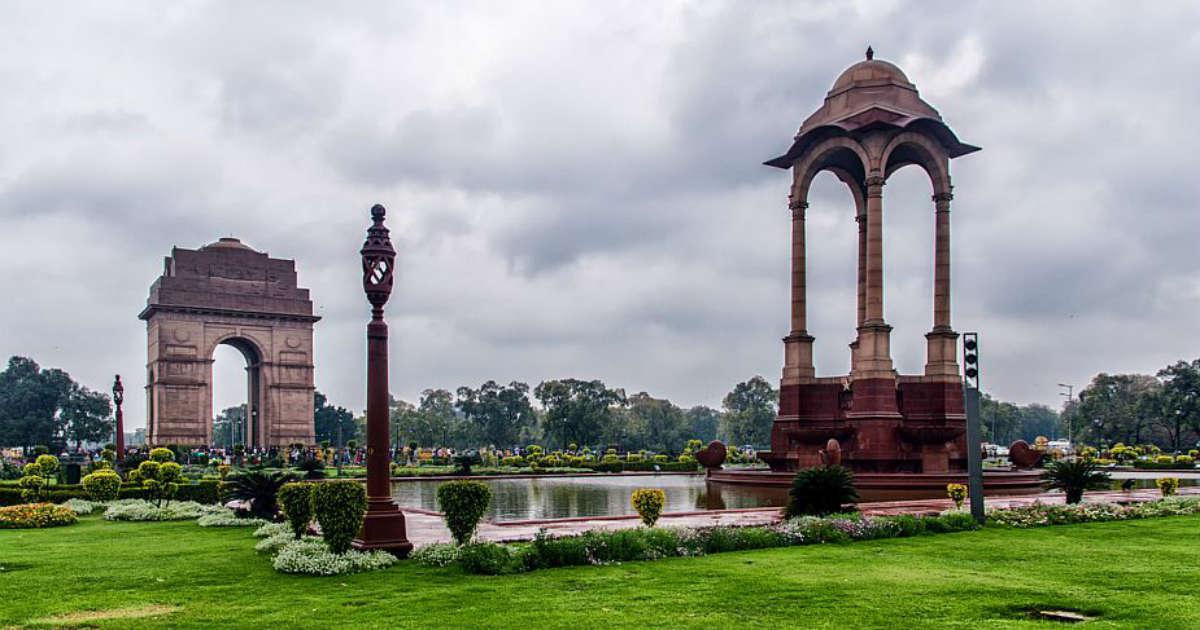 Rain in Delhi