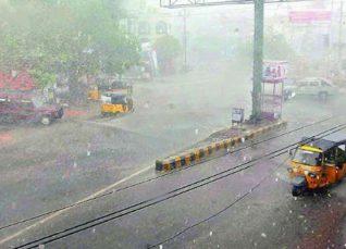 Monsoon Rains in Telangana