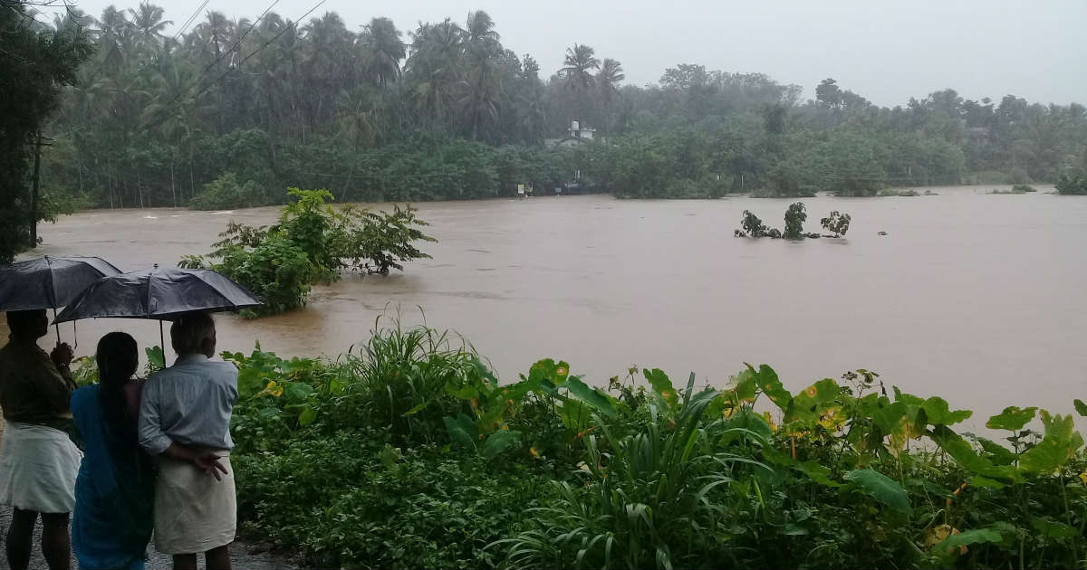 Monsoon Rains in Kerala