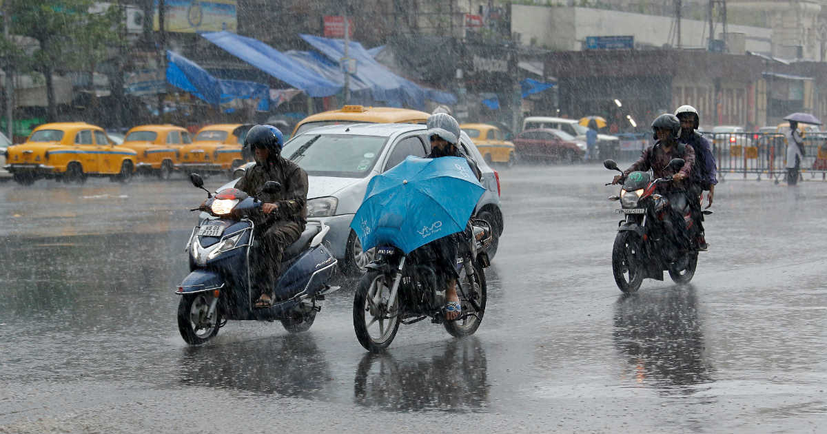 Monsoon Rains in West Bengal