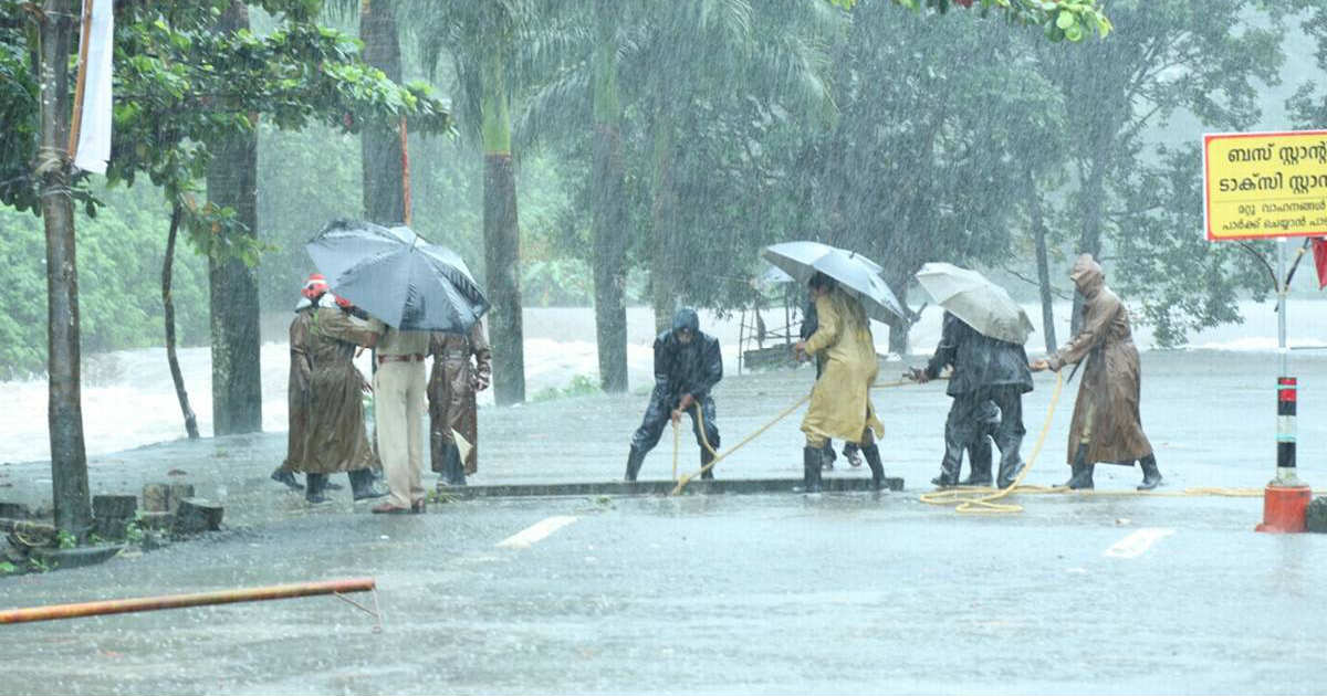 Torrential Monsoon Rains in Kerala
