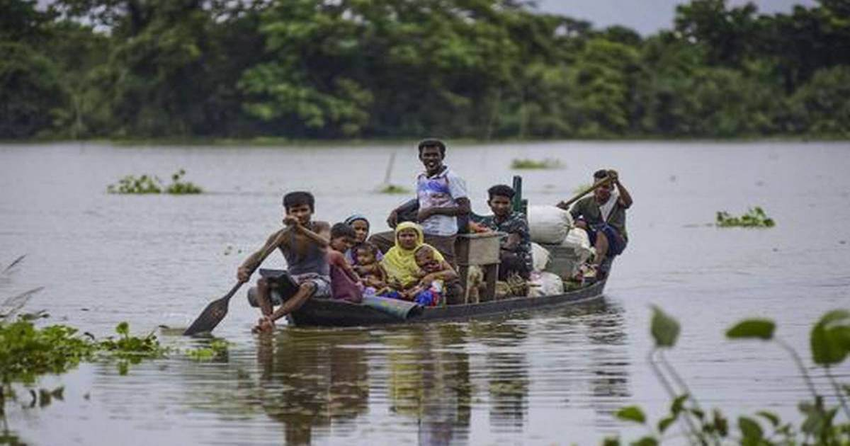 Flood In Assam