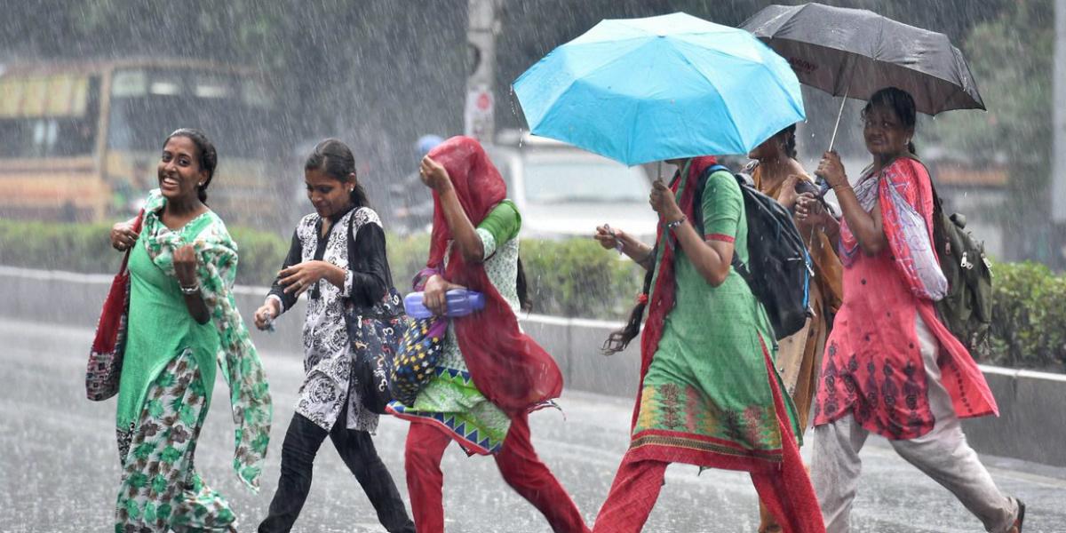 Heavy Monsoon showers