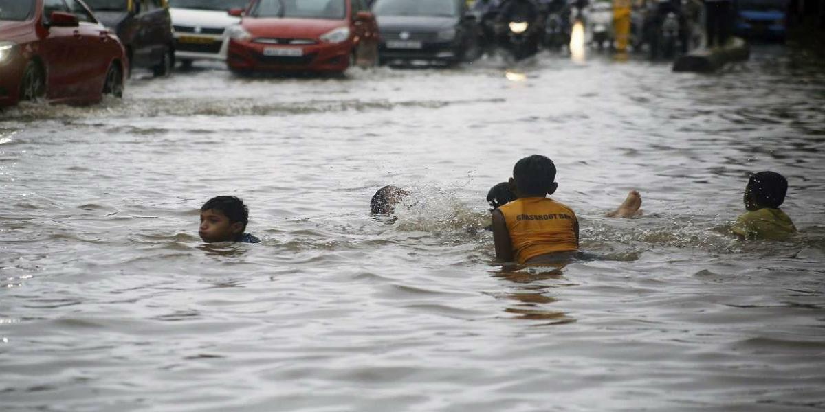 Heavy Mumbai rains