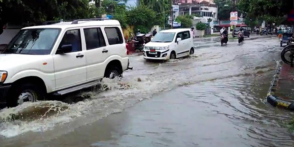 Heavy rain in Bihar
