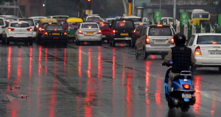 Monsoon Rains in Delhi