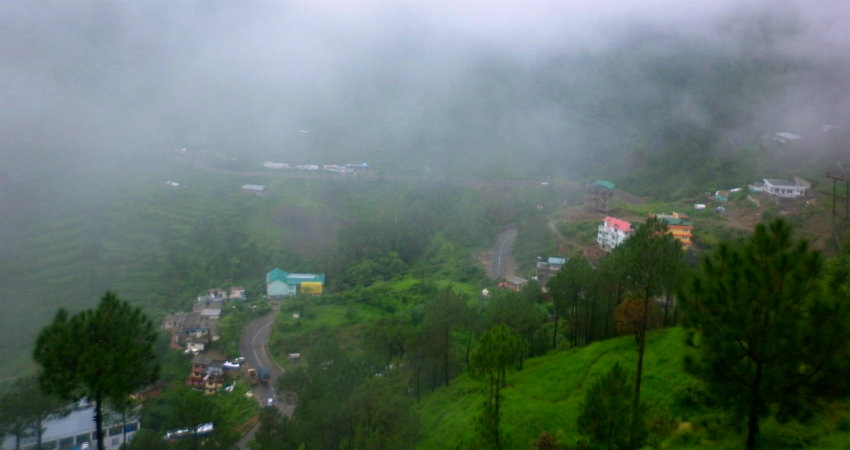 Monsoon Rains in Hills of North