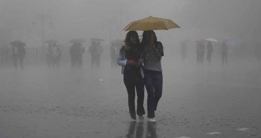 Monsoon in Uttar Pradesh and Bihar